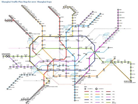 Mapa metro de Shanghai