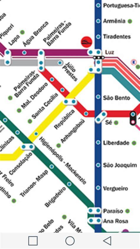 Mapa Metrô SP para Android   APK Baixar
