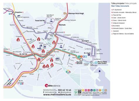 Mapa Metro Valencia 2015