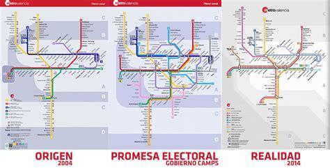 Mapa Metro Valencia 2016