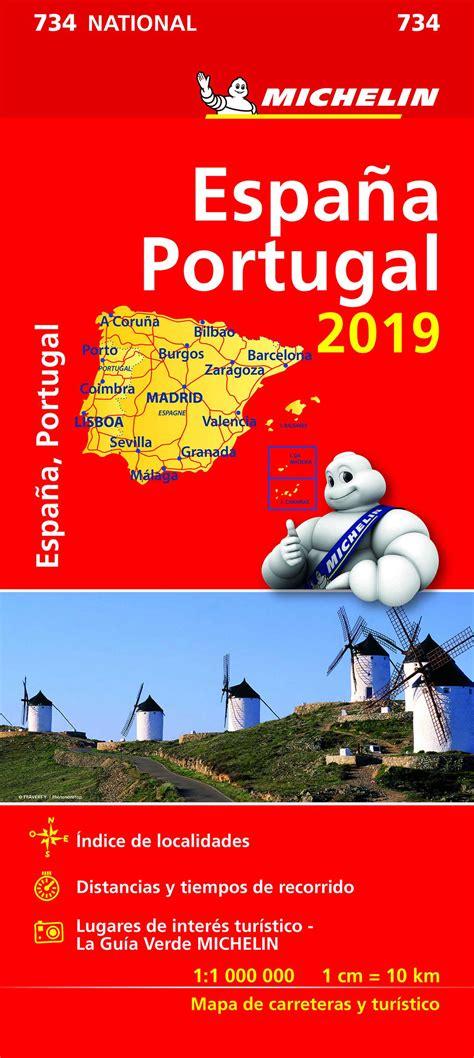 Mapa Michelin España   Portugal 2019   Peregrinoteca