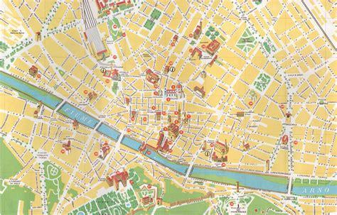 Mapa Monumentos Florenca Italia