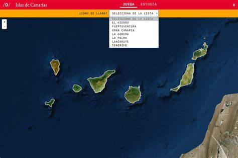 Mapa para jugar. ¿Cómo se llama? Islas de Canarias   Mapas ...