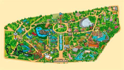 Mapa Parque de Atracciones de Madrid | Cosas que ponerse ...