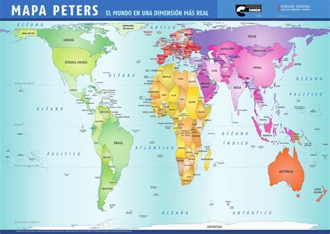 MAPA PETERS Y UNIDADES DIDACTICAS CASTELLANO by Daniel ...