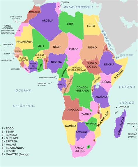 Mapa Político de Africa   LocuraViajes.com