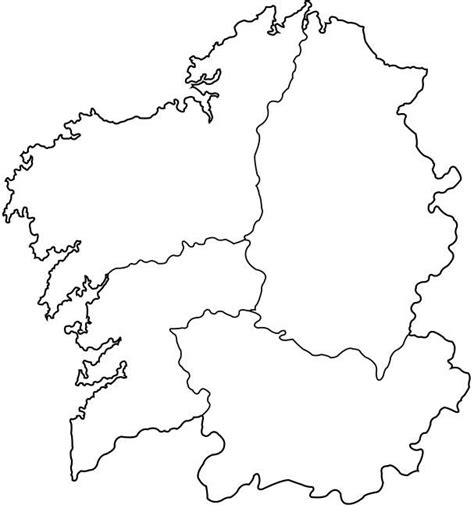 mapa político galicia   galicia españa   Mapa politico ...