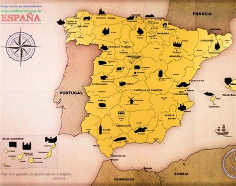 Mapa rascar España