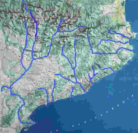 Mapa Rios Barcelona