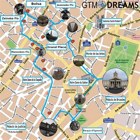 Mapa Turistico Bruselas | Mapa