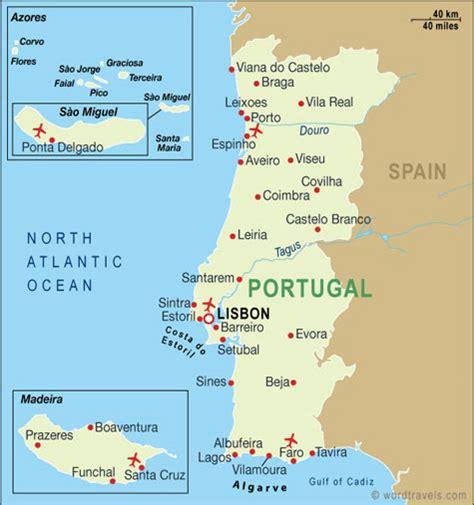 Mapa turístico de Portugal | Portugal Turismo