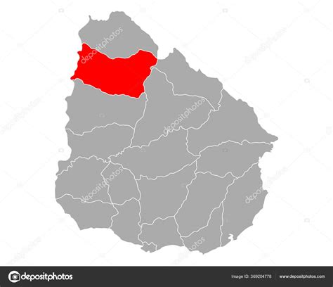 Mapa Venta Uruguay — Vector de stock  rbiedermann #369204778