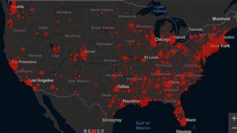 Mapa y casos de coronavirus por estado en USA: hoy, 26 de ...