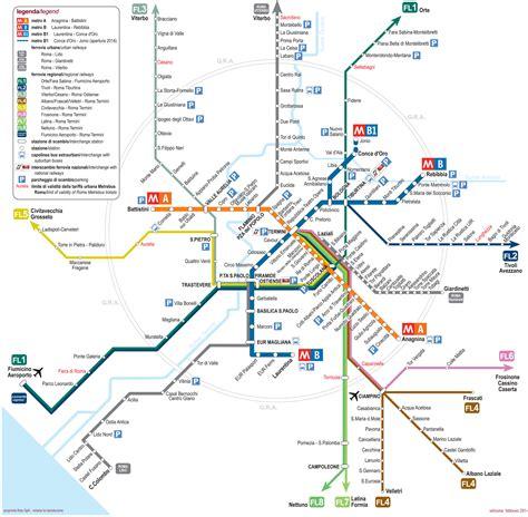 Mapa y plano de metro  metropolitana  de Rome : estaciones ...