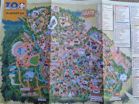 Mapa Zoo Madrid | Mapa