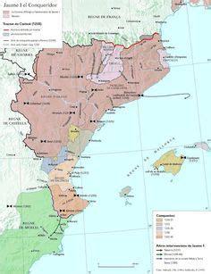 mapa6.jpg | Historia medieval, Historia de españa