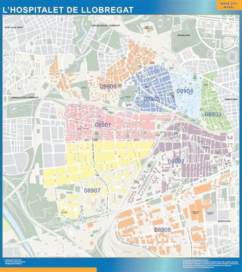 Mapas Cataluña   Mapas Murales de España y el Mundo