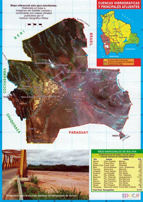 Mapas de Bolivia y Láminas | Historia, Literatura ...