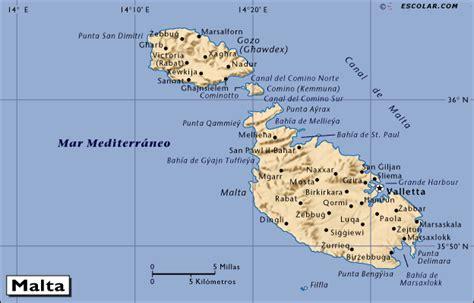 Mapas de Escolar.com   Mapa de Malta