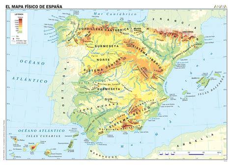 MAPAS DE ESPAÑA. FÍSICOS, POLÍTICOS Y MUDOS   Conocimiento ...