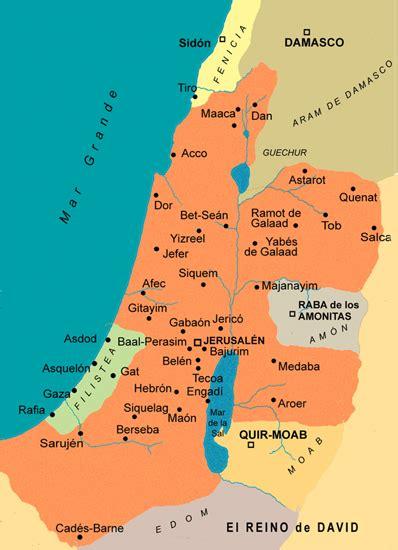 Mapas de la época de la nación de Israel   Sallomo
