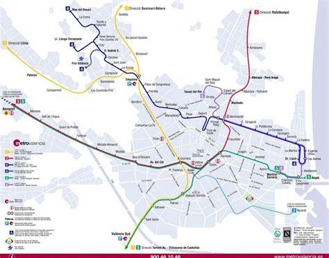 Mapas de metro de ciudades del mundo para descargar e imprimir
