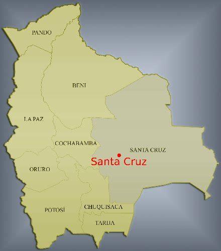 MAPAS DE SANTA CRUZ DE LA SIERRA: UBICACIÓN DEL ...