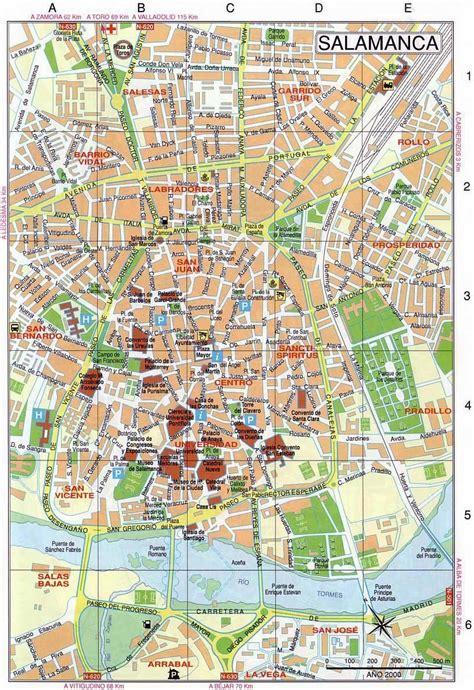 Mapas Detallados de Salamanca para Descargar Gratis e Imprimir