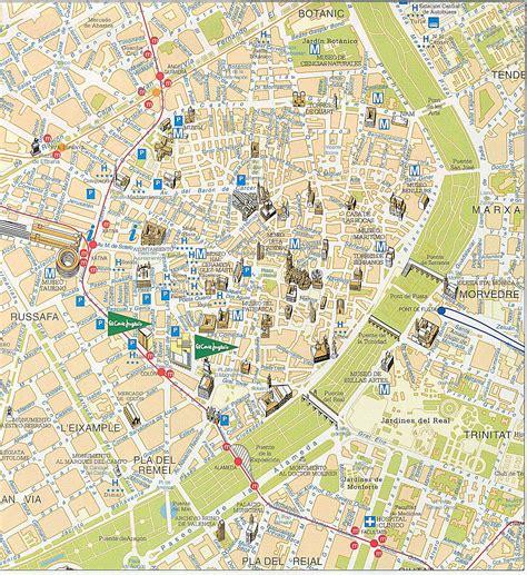 Mapas Detallados de Valencia para Descargar Gratis e Imprimir