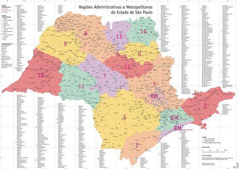 Mapas do estado de São Paulo | MapasBlog