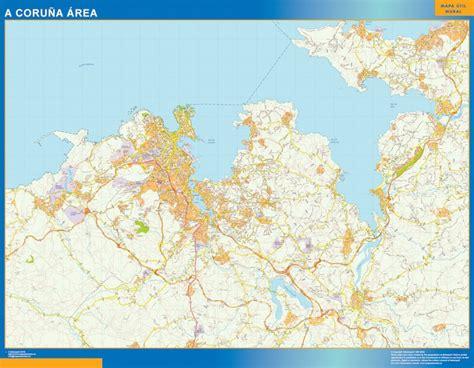 Mapas Galicia | Mapas Murales España y el Mundo