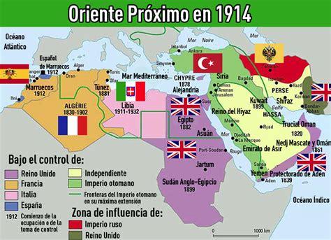 Mapas que explican un complejo  mundo  llamado Oriente ...