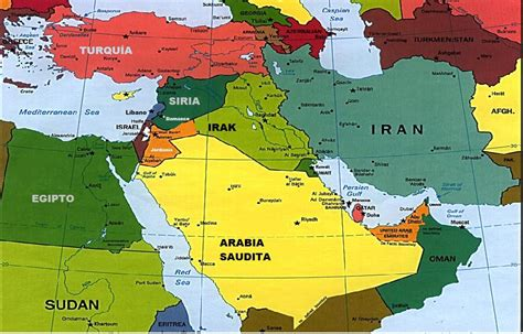 MAPAS   UBICACION DE ISRAEL ACTUAL | Siria, Arabia saudita