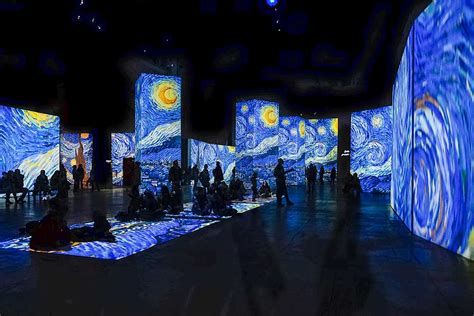 Mapping Projection brings Van Gogh master pieces alive