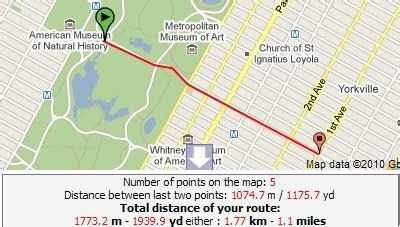 Maps Mania: Plan Your Jogging Route with Google Maps