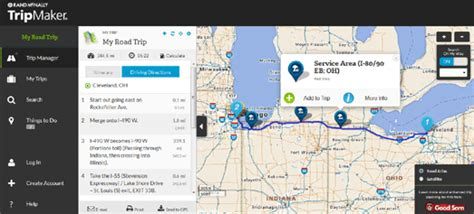 Maps Mania: The Rand McNally Trip Planner