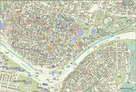 Maps of Sevilla