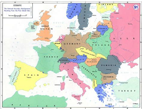 Maps of the Great War