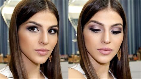 Maquiagem para festas durante o DIA | mais elaborada   YouTube