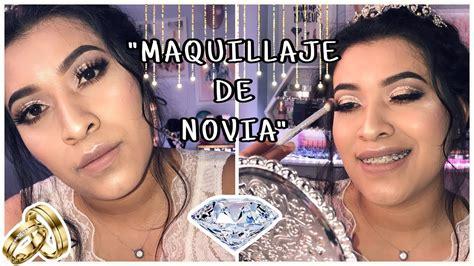 MAQUILLAJE DE NOVIA // MAQUILLATE TÚ MISMA EN UN DOS POR ...