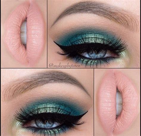 Maquillaje de ojos en tonos verdes | maquillaje ...