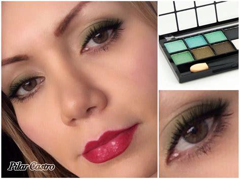 Maquillaje en tonos verdes Cret Pilar Castro   Tonos de ...