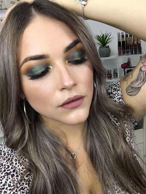 Maquillaje en tonos verdes | Maquillaje de ojos, Tonos de ...