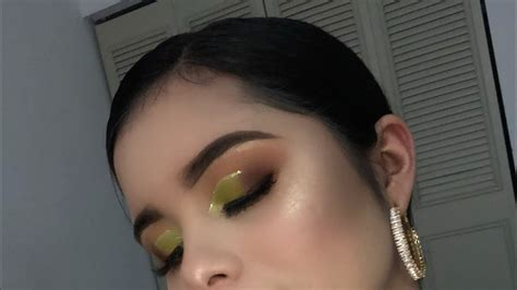 Maquillaje en tonos verdes    YouTube