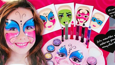 Maquillaje Kit de Pinturas de Maquillaje Infantil   Juegos ...