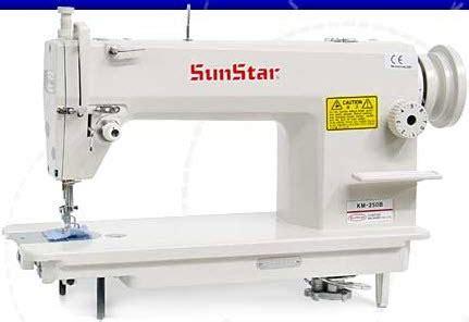 Maquina De Coser Plana Mecanica Sunstar Km 250   $ 1.199 ...