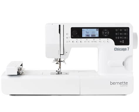 Máquina de coser y bordar Bernina Bernette Chicago 7