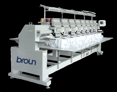 Maquinas de bordar multicabezales RICOMA Broin | Maquina ...