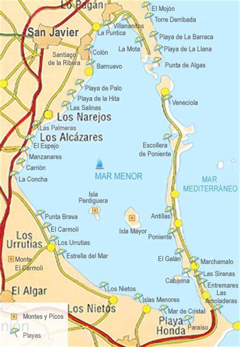 Mar Menor  Playas e islas   Región de Murcia Digital