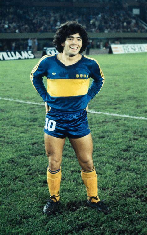 Maradona en Boca.  con imágenes    Boca juniors, Fotos de ...